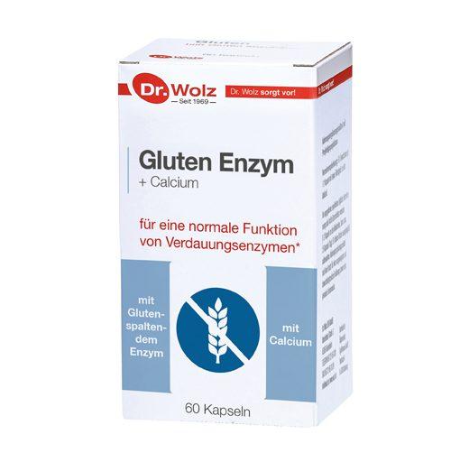 Gluten Enzym + Calcium – Dr. Wolz 7