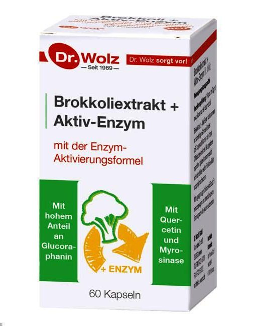 Brokkoliextrakt + Aktiv Enzyme