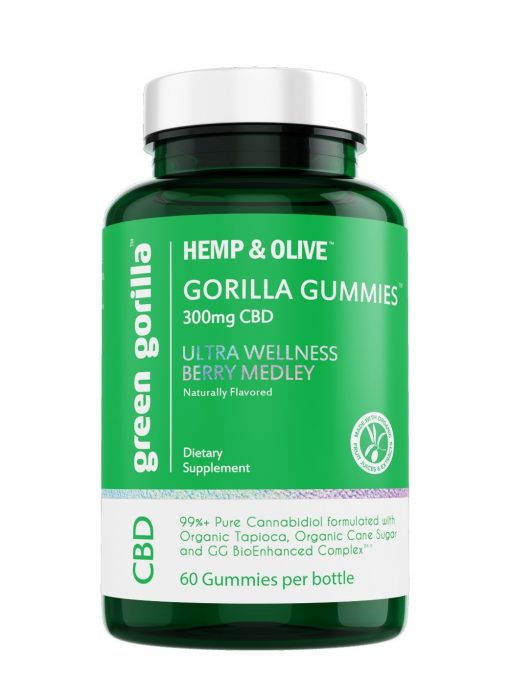 Green gorilla gummies