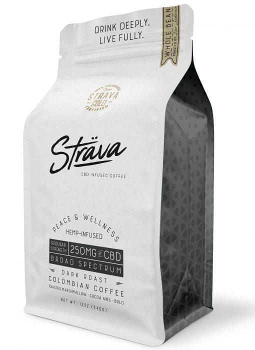 Strava-WholeBeanCoffee-Regular Strenght-250mg-DarkRoast